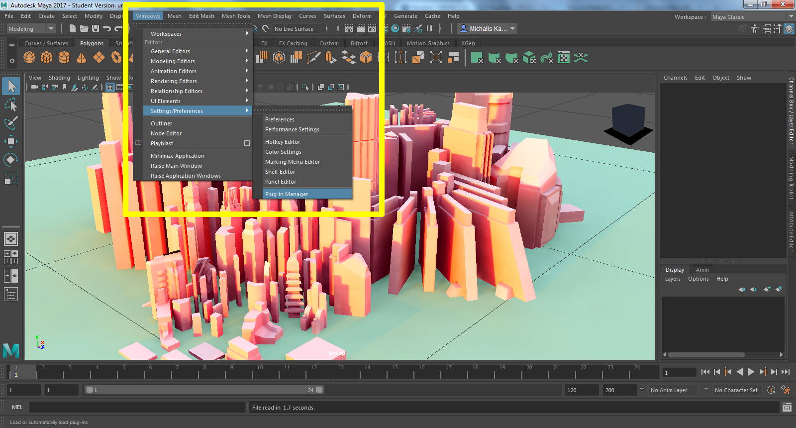 Exporting from Maya   Creating Game Data   Castle Game Engine