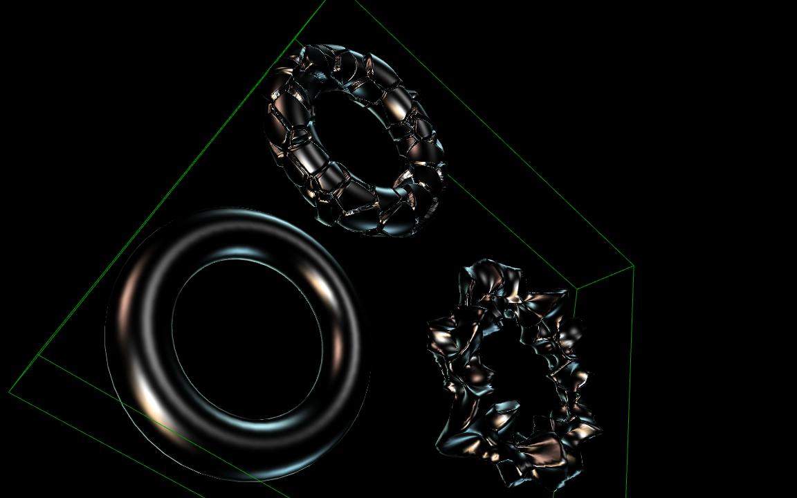 Development news: Beautiful shader rendering, compositing