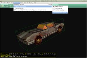Car animation in view3dscene