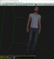 FBX file loaded in 3ds Max and exported by Babylon glTF