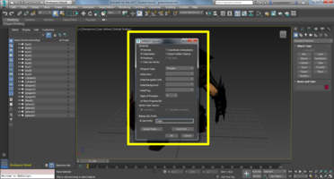3ds Max VRML97 Exporter options