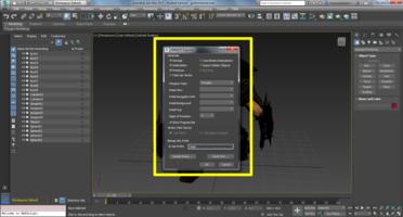 3ds Max VRML97 Exporter options
