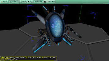 View in view3dscene Hextraction model exported from Maya