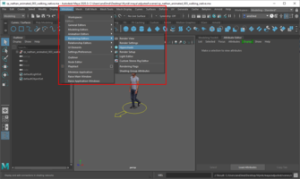 Open material editor
