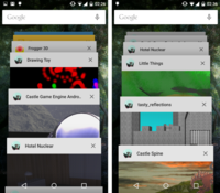 Various Android applications developed using Castle Game Engine