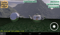 Cubemap reflections on Android