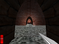 Castle level with smooth spot headlight