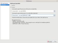 Code Editor Preferences