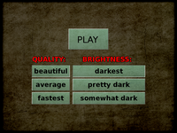 Darkest Before the Dawn - title screen