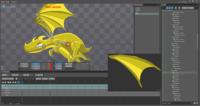"""Dragon Squash"" animation in Spine"