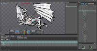 """Old """"Dragon Squash"""" animation in Spine"""