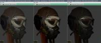Helmet: Gamma Correct / Gamma Correct + Tone Mapping / No Gamma or Tone Mapping