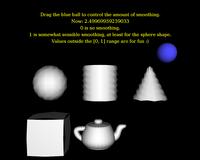 Geometry shaders fun smoothing demo