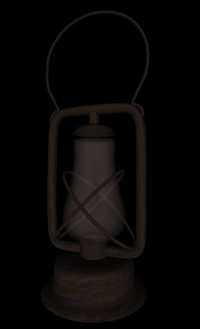 Lantern composed from NURBS patches (from web3d.org examples)