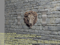 Lion texture (with parallax mapping)