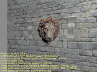 Lion texture (without parallax mapping)