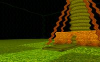 Demo of three ScreenEffects defined in VRML/X3D, see screen_effects.x3dv