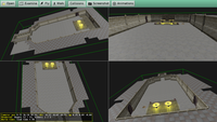 Multiple views at the same 3D dungeon
