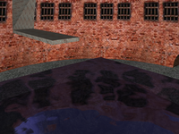Water reflections by optimized GeneratedCubeMapTexture