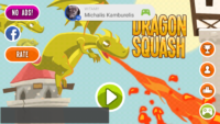 Dragon Squash - Android game integration with Google Games (title, sign-in)