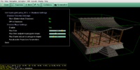 """View3dscene """"Lights Editor"""" at work setting shadow maps"""