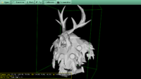 Moonkin Bust in the STL format, by bardiir, see http://www.thingiverse.com/thing:2211053