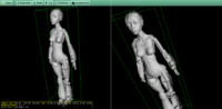 Robot woman in the STL format, by Shira, see http://www.thingiverse.com/thing:614366