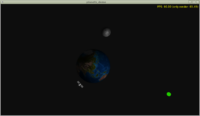 Earth, Moon -- demo using Castle Game Engine