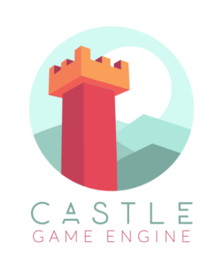 Castle Game Engine logo with title