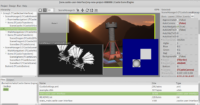 Castle Game Engine editor with 3 viewports (scene managers)