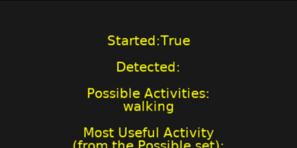 Activity Recognition on iOS