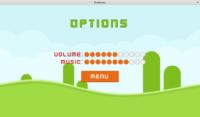 Platformer demo - options