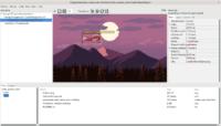Designing user interface in Castle Game Engine editor - resized biplane