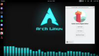CGE editor on Arch Linux